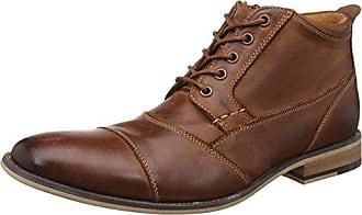 Steve Madden Mens Jabber Boot, Dark Tan, 10.5 M US