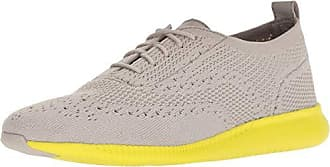 760f308619 Cole Haan Womens 2.Zerogrand Stitchlite Sneaker, Dove Knit/Sulpher Spruce,  7.5