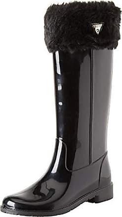90134976e441 Guess Ribe, Bottes Hautes Femme, Noir Black, 40 EU