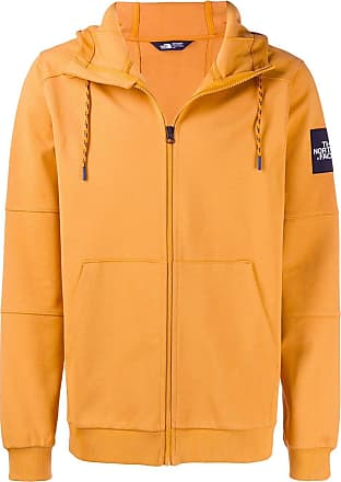 The North Face zipped hoodie - Orange