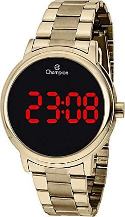 Champion Relógio Champion Feminino Digital CH40115H - Dourado