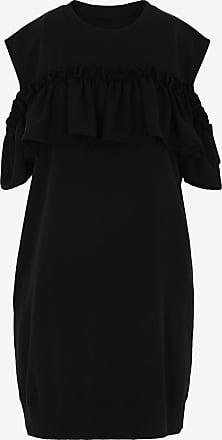 Maison Margiela Kleid Aus Fleece Mit Rüschen