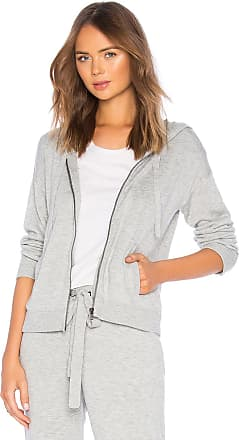 Splendid Bungalow Zip Hoodie in Gray