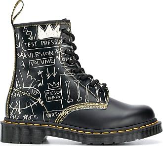 Dr. Martens Ankle boot 1460 Basquiat com salto 35mm - Preto