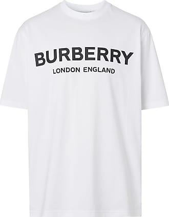 Burberry Camiseta com estampa de logo - Branco