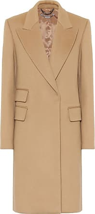 Stella McCartney Long wool-blend coat