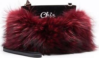 Emm Kuo Majorelle fur pouch - cool/chic