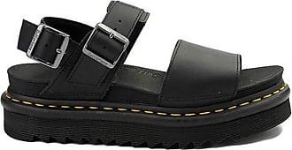 Dr. Martens Womens Voss Sandal, Black Hydro Leather, 8 UK