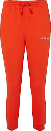 adidas Originals Coeeze Organic Cotton-blend Jersey Track Pants - Red