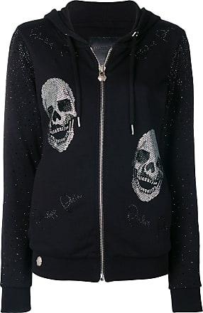 Philipp Plein Im Still In Love zipped hoodie - Black