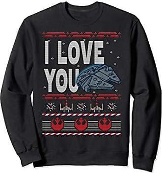 Star Wars Falcon Love You Ugly Christmas Sweater Sweatshirt