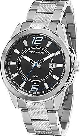 Technos Relógio Masculino Technos Analógico 2115MLG/1A Prata