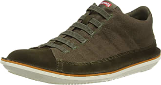 Camper Mens Beetle Hi-Top Trainers, Green (Dark Green 300), 10 UK
