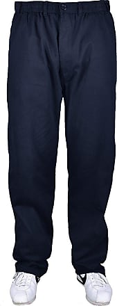 Espionage Big Mens DK Navy Espionage Cameron 29in IL Rugby Pants 3xl 4xl 5xl 6xl 7xl 8xl, Size : 6XL