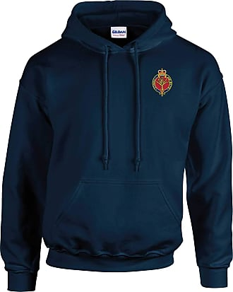 Military Online Welsh Guards - British Army Embroidered Hoodie Navy