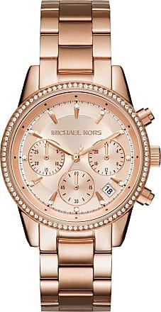 Michael Kors MK6357 Ritz Watch Rosegold/Gold-Tone