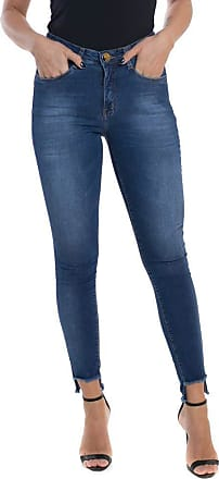Eventual Calça Jeans Eventual Mid Rise Skinny Azul 40