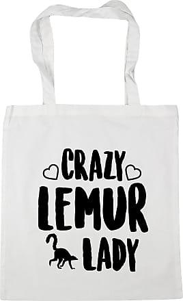 Crazy shark lady Tote Shopping Gym Beach Bag 42cm x38cm 10 litres