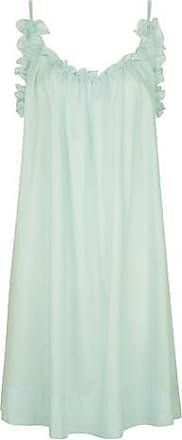 Three Graces London Nightingale Night Dress in Mint