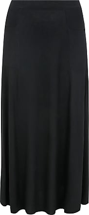Yours Clothing Clothing Womens Maxi Jersey Skirt Size 20 Black