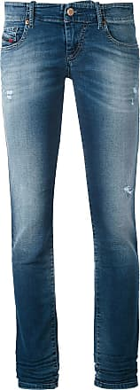 Diesel Calça jeans reta Grupe - Azul