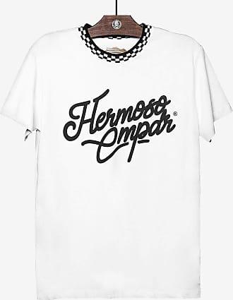 Hermoso Compadre T-SHIRT GOLA XADREZ BRANCA 103973-Branco-GG