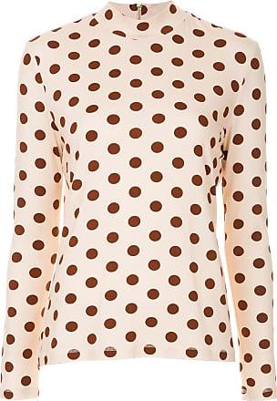 Karen Walker Top a collo alto Tarrasch - Di colore rosa