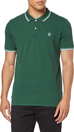 Selected Homme Mens Slhnewseason Ss Polo W Noos Shirt, Green (Trekking Green Trekking Green), X-Large