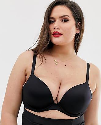 357b8ec0547e5 City Chic Adore push up bra B - E cup in black