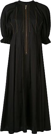 Karen Walker Graphite midi dress - Black