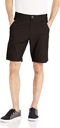 Volcom Mens Riser Relaxed Fit 20 Short Casual, Black, 38