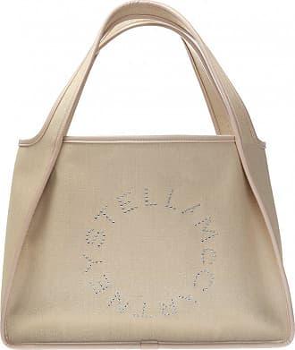 Stella McCartney Tote Shoulder Bag Womens Beige