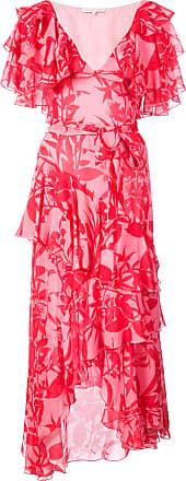 Borgo De Nor Vestido floral de seda - Rosa