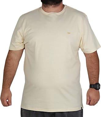 Wave Giant Camiseta Wg Tamanho Especial - Amarelo - 3G