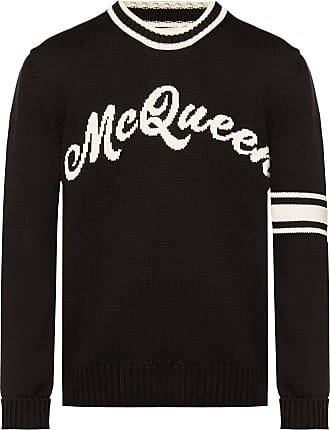 Alexander McQueen Logo Sweater Mens Black