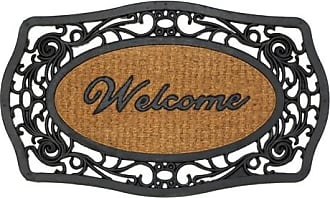 Zingz & Thingz Zingz and Thingz Frill Framed Welcome Entry Mat