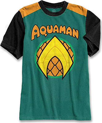 DC Comics Camiseta Masculina Aquaman Logo