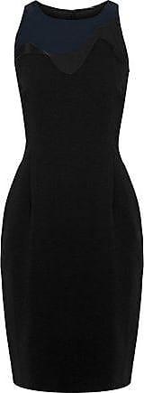 Elie Tahari Elie Tahari Woman Colby Tulle-paneled Crepe Dress Black Size 2