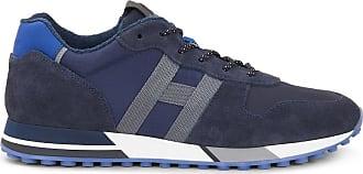 Hogan Sneakers H383, GRAU,BLAU, 5.5 - Schuhe