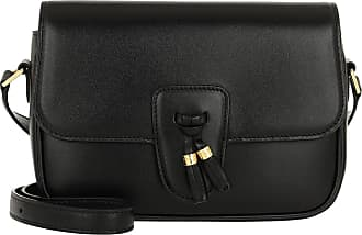 Celine Tassel Shoulder Bag Medium Black Umhängetasche schwarz