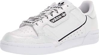 adidas Originals Womens Continental 80 Sneaker, White/Black/White, 10.5 M US