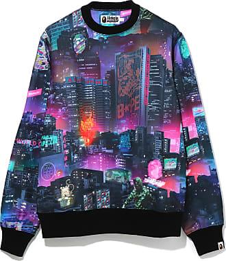 A Bathing Ape Neon Tokyo sweatshirt