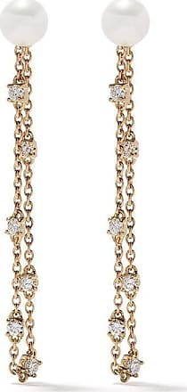 Yoko London 18kt Trend Goldohrringe mit Diamanten - 6