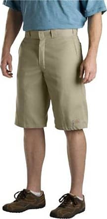 Dickies Mens 13 Inch Relaxed Fit Multi-Pocket Work Short, Khaki, 33
