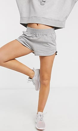 Free People Movement Sting Like a Bee - Shorts in Graukombination-Schwarz