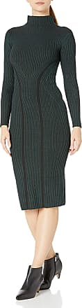 French Connection Womens Spotlight Story Knits Formal Night Out Dress, Twilight Green, 10