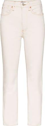 3x1 Calça jeans cintura alta Claudia - Branco