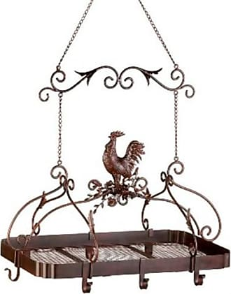 Zingz & Thingz 57070373 Country Rooster Cookware Holder