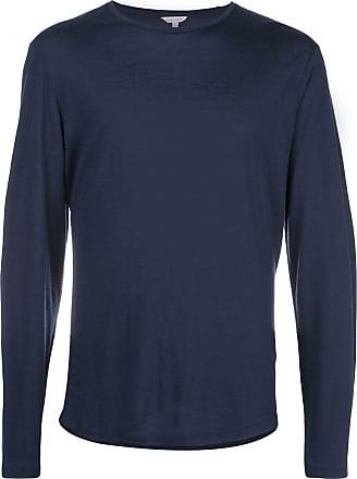 Orlebar Brown Camiseta mangas longas - Azul