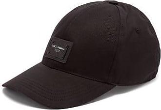 Dolce & Gabbana Logo-patch Baseball Cap - Mens - Black